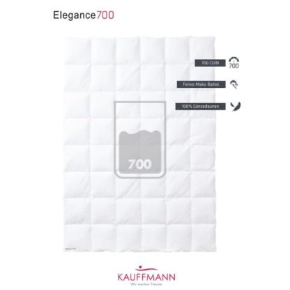 A Kauffmann Elegance 700 Down Duvet