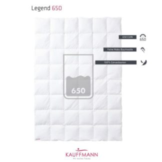 A Kauffmann Legend 650 Down Duvet