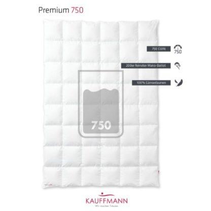 A Kauffmann Premium 750 Down Duvet