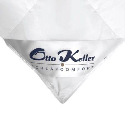 Otto Keller Down Duvet Corner Label